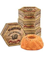 TORTUGA Kentucky Bourbon Butter Cake w/walnuts - The Perfect Premium Gourmet Gift for Gift Baskets, Parties, Holidays, and Birthdays - Great Cakes for Delivery