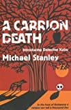 Front cover for the book A Carrion Death by Michael Stanley