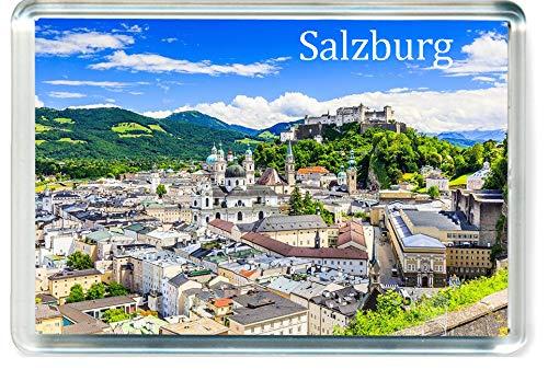 GCT J202 Salzburg Jumbo Calamita da Frigo Austria Travel Fridge Magnet