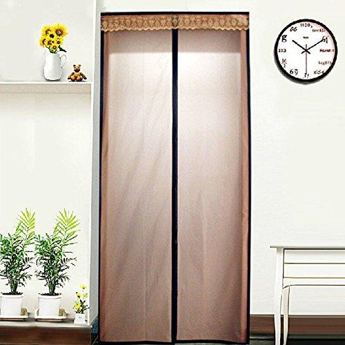 """Door Heat Loss : Magnetic thermal insulated door curtain """"energy saving"""