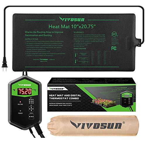 VIVOSUN Heat Mat and Digital Thermostat