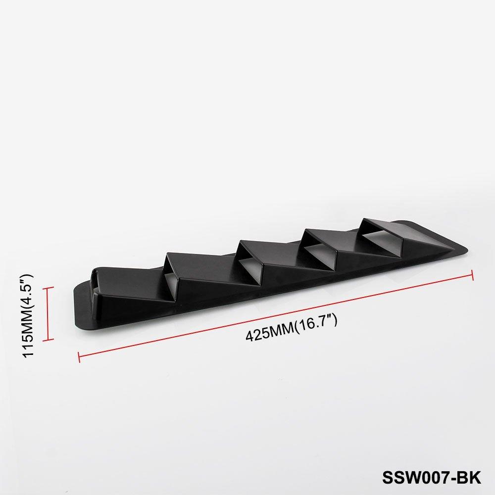 OUYAWEI 17X5 Inch Universal Hood Vent Louver Cooling Panel Trim Set