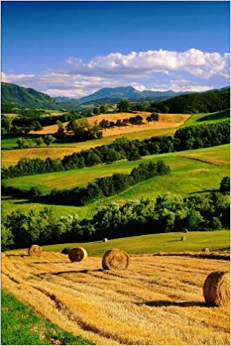 Book Italian Countryside of Parma Italy Journal: 150 page lined notebook/diary