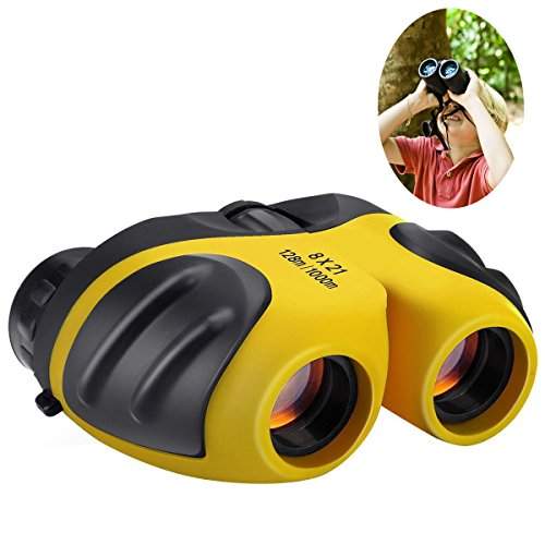 Best-Sun 8 X 21 Kids Binoculars for Children ,Compact Telescope Boys Gifts 4-8 Years Old to Bird Watching (4 X 5 Ground Glass)