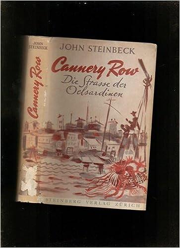 Cannery Row John Steinbeck Amazon Books