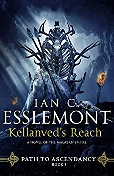 Kellanved's Reach by Ian Cameron Esslemont science fiction and fantasy book and audiobook reviews