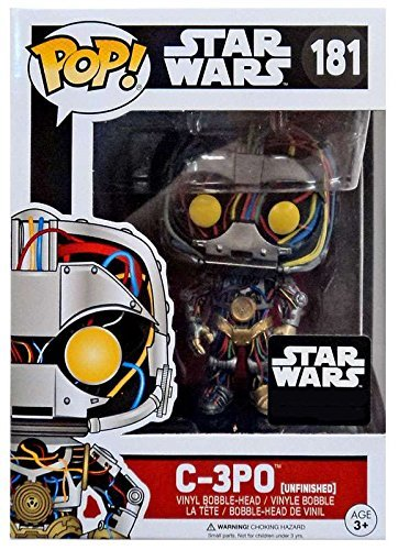 C-3PO Funko POP! Vinyl Bobble Head Unfinished Figurine, used for sale  Delivered anywhere in USA
