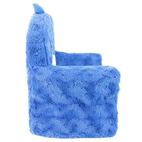 51BvA6vhALL - Animal Adventure Sweet Seats | Blue Shark Children's Chair | Large Size | Machine Washable Cover