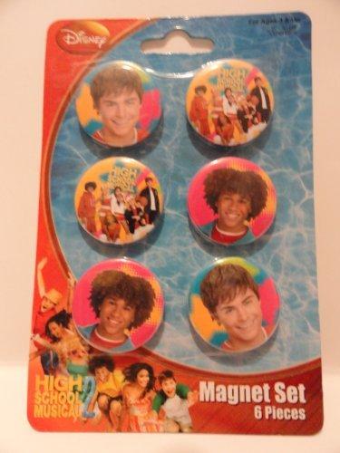 High School Musical Magnet - High School Musical Magnet Set - 6 Magnets