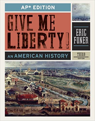 Amazon give me liberty an american history ap third amazon give me liberty an american history ap third edition 9780393919554 eric foner books fandeluxe Images