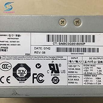 SAUJNN,1300w Server Power Supply 406421-001 337867-501 for DL580G3 580G4 ML570G3//570G4