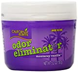 California Scents Odor Eliminator, Monterey Vanilla, 5.2-Ounce Jars (Pack of 12)