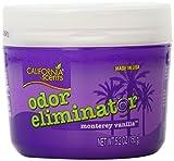 California Scents Odor Eliminator, Monterey Vanilla, 5.2-Ounce Jars (Pack of 12)
