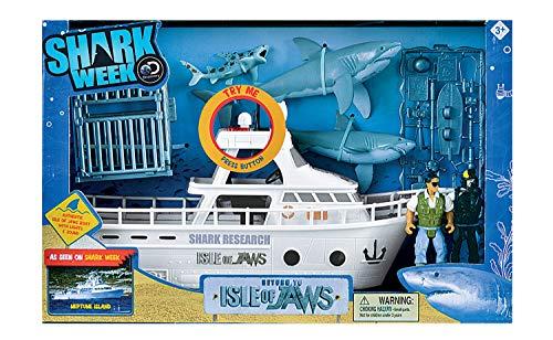 Shark Week Isle of Jaws Playset