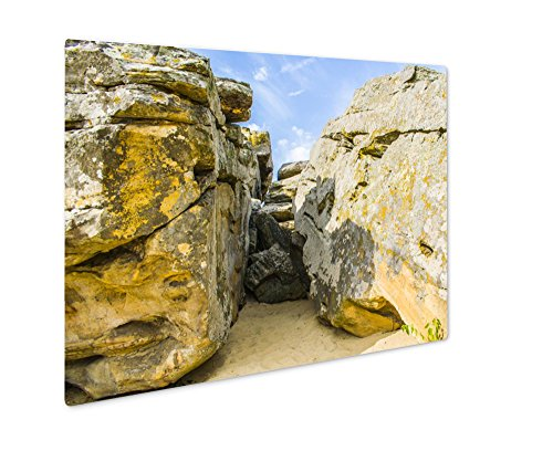 Ashley Giclee Metal Panel Print, The Entrance To The Cave In The Stony Mountains, Wall Art Decor, Floating Frame, Ready to Hang 8x10, AG6498874