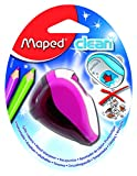 Maped Clean 2 Hole Sharpener, Assorted Colors (030249)