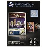 HP folleto 200g Laser Paper, mate, 8.5x 11, 100hojas (q8824a)