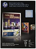 HP Brochure Paper for Laser Printer, Matte, 8.5x11, 100 Sheets