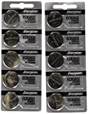 Watches : Energizer CR2032 3 Volt Lithium Coin Battery 10 Pack (2x5 Pack) In Original Packaging