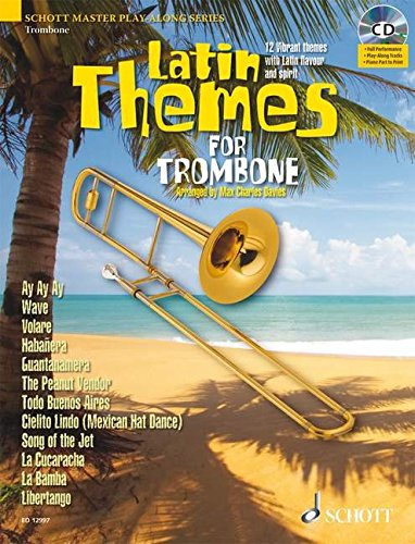 Latin Themes for Trombone (Schott Master Play-along Series) ()