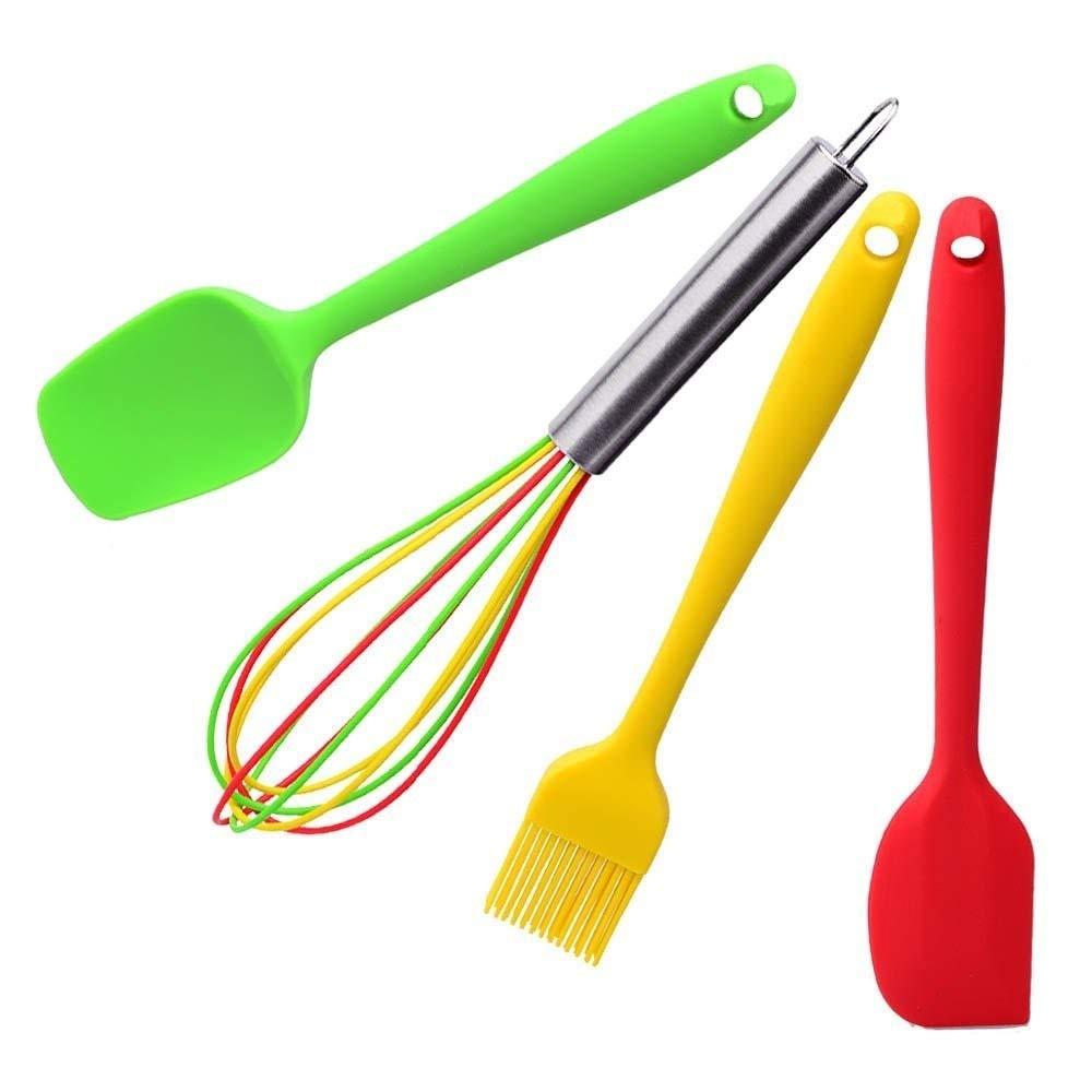 BananaShop99 - Cooking Tools 4pcs/set Silicone Kitchen Utensils Set