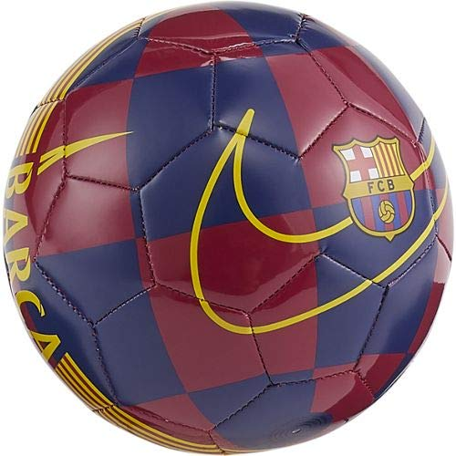 Nike 2019-2020 Barcelona Skills Football (Blue-Red): Amazon.es ...