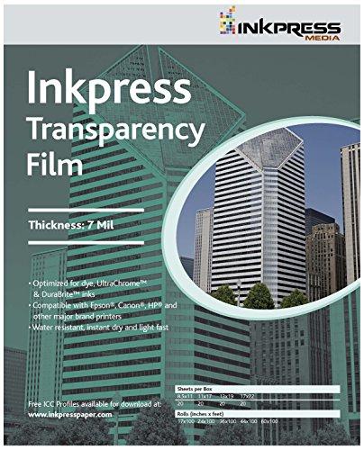 INKPRESS MEDIA #ITF24100 160GSM, 7 Mil by INKPRESS MEDIA