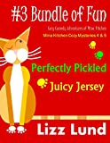 #3 Bundle of Fun – Humorous Cozy Mysteries – Funny Adventures of Mina Kitchen – with Recipes: Perfectly Pickled + Juicy Jersey – Books 4 + 5 (Mina Kitchen Cozy Mystery Series – Bundle)