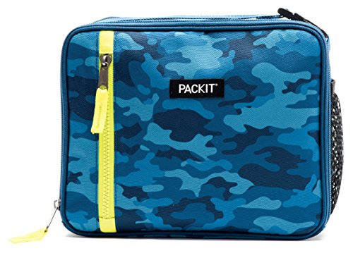 PackIt Freezable Classic Lunch Box, Blue Camo by PackIt (Image #1)