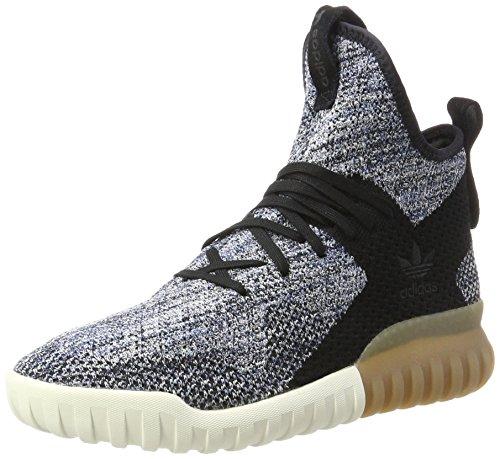 Adidas Chaussures De Sport Mixte-erwachsene Tubulaire X Primeknit Schwarz (ame Noire / Oligo-bleu Bleu Tactile)