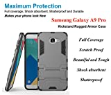 Samsung Galaxy A9 Pro Cover / Samsung Galaxy A9 Pro Back Cover / Samsung Galaxy A9 Pro Mobile Cover - Heavy Duty Shockproof Kick Stand Rugged Armor Back Case Cover - By FurnishFantasy
