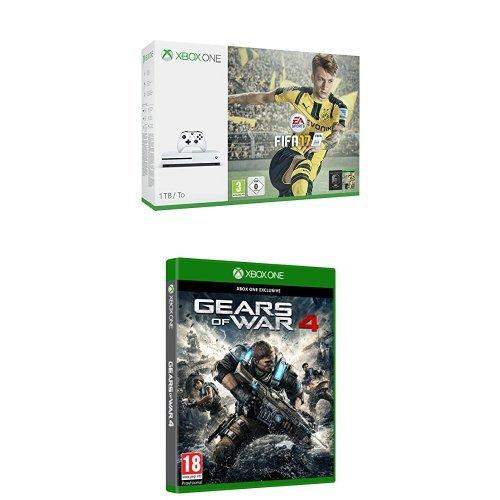 Xbox One - Consola S 1 TB + FIFA 17 + Gears Of War 4: Amazon.es ...