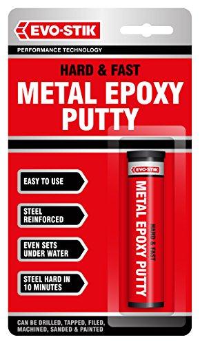 Evo-Stik Hard and Fast Metal Epoxy Putty 50g 1.7oz