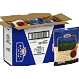 Kraft Natural Pepper Jack Jalapeno Cheese Shreads, 8 Ounce -- 12 per case.
