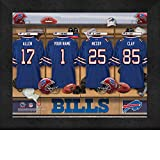 Photo File Locker Room Buffalo Bills Framed Posters 16x12 Inches