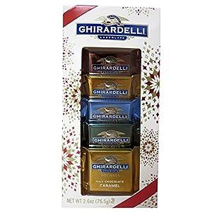 Ghirardelli Assorted Chocolate Small Holiday Box 2.6oz