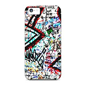 Awesome Graffiti Flip Cases With Fashion Design For Iphone 5c