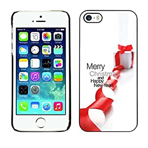 YOYO Slim PC / Aluminium Case Cover Armor Shell Portection //Christmas Holiday Merry Christmas Gift Sock 1245 //Apple Iphone 5 / 5S