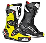 Sidi Mag-1 Motorcycle Boots Black/Flo Yellow US10/EU44 (More Size Options)