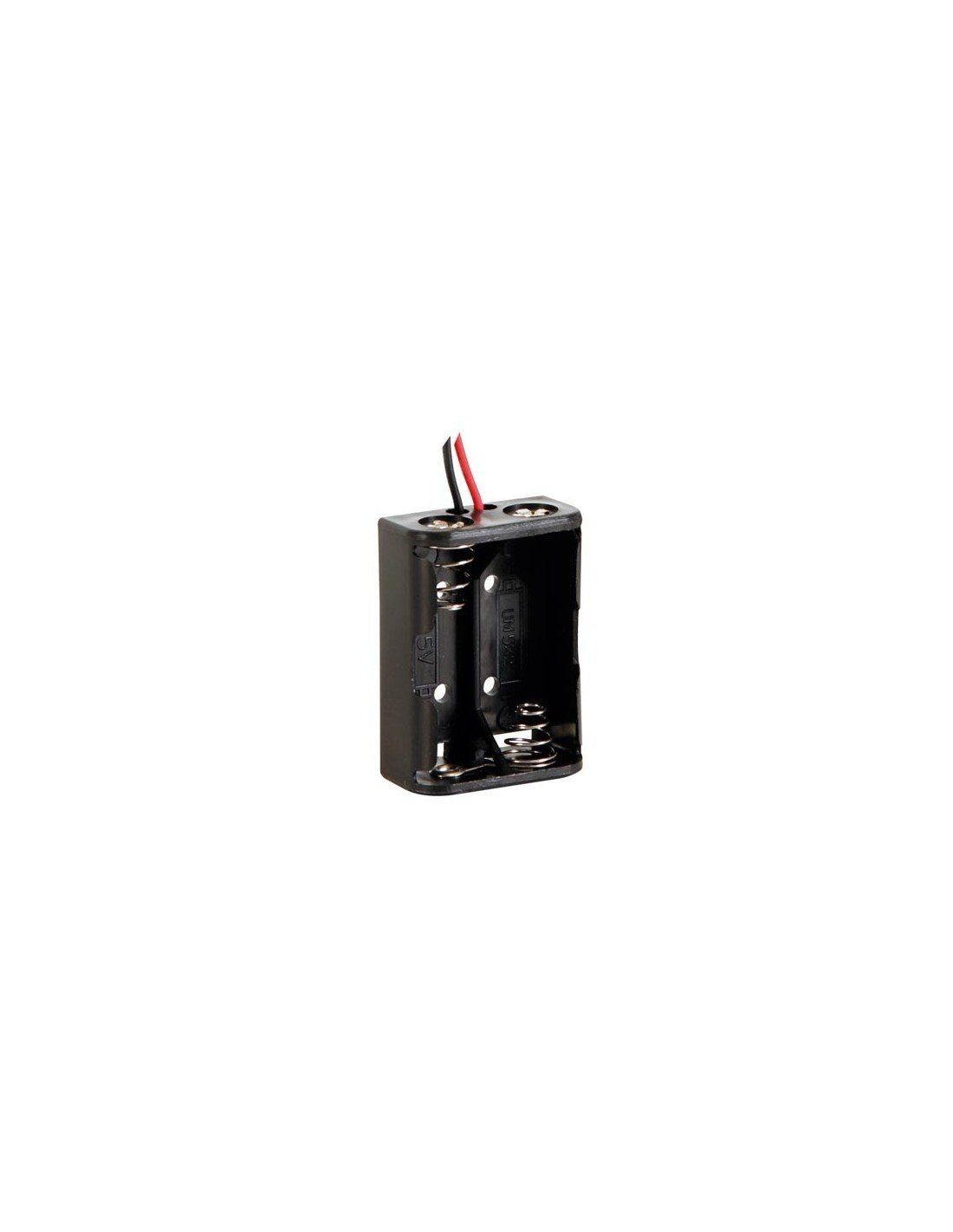 1 Grade to 12 Grade Velleman BH121B Battery Holder for 2 x D-Cell with Snap Terminals