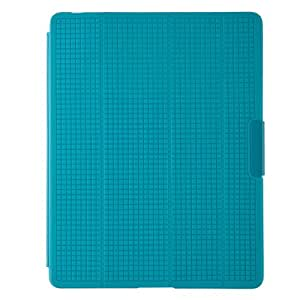Speck PixelSkin - Funda para Apple iPad 3 (soporte de sobremesa), azul