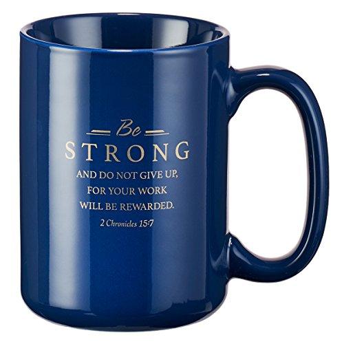 Mug Strong Faithful Servant Navy product image