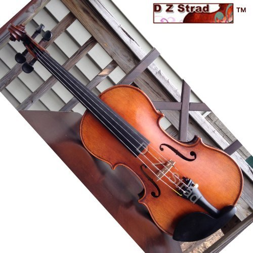 Maestro Old spruce Stradi 4/4 Full Size Violin D Z Strad Model 509 Powerful tone Antique Varnish