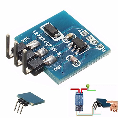 Bluelover 5Pcs Ttp223B Digital Touch Sensor Capacitive Touch Switch Module pour Arduino