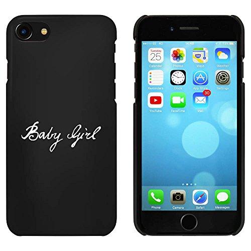 Noir 'Bébé Fille' étui / housse pour iPhone 7 (MC00065333)