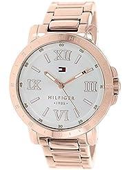 Tommy Hilfiger Womens 1781472 Analog Display Quartz Rose Gold Watch