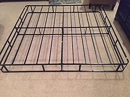zinus 9 inch high profile smart box spring mattress foundation strong steel. Black Bedroom Furniture Sets. Home Design Ideas