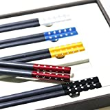 5 double wood chopsticks of family red wood suit solid wood with no lacquer and wax free antiskid family (1)