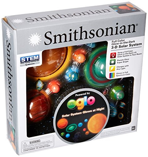 Smithsonian NSI 3D Hanging/Glowing Solar System