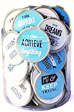 MOTIVATIONAL Bookmarks -75 Pack - Bulk Bookmarks for Kids girls boys. Perfect for School Student Incentives – Reading Incentives - Party Favor Prizes - Classroom Reading Awards